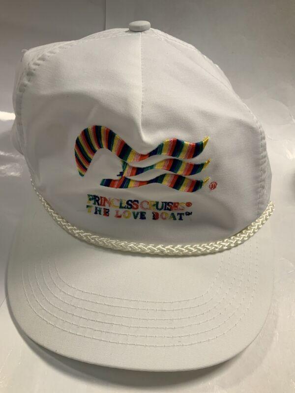 Vintage Princess Cruises Hat - The Love Boat - Head To Toe SnapBack Trucker Hat