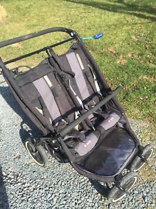 Phil & Ted E3 twin double stroller
