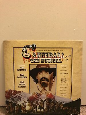 Cannibal! The Musical Vinyl Record Blood Red LP OST Trey Parker South Park (Red Record)