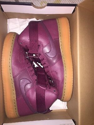 Womans Nike Purple Air Force 1 size 7