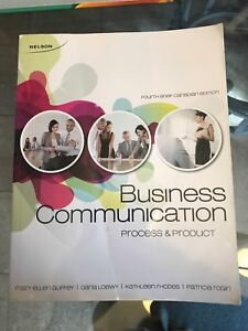 Business Communication Process and Product 4th Brief Canadian Ed