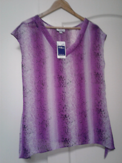 Millers Animal Print top Size 10 Brand New