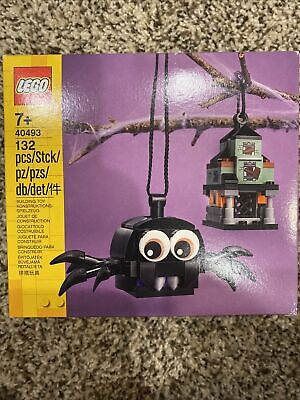 Lego 40493 Spider & Haunted House Pack Halloween Decoration NEW 2
