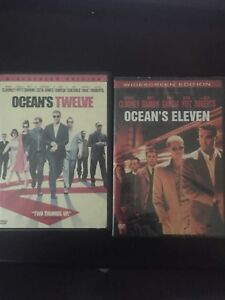Oceans eleven and oceans twelve dvd see full dvd collection