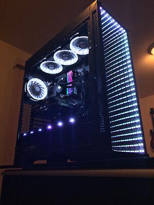 RYZEN 2700X CUSTOM BUILT GAMING COMPUTER/PC RGB GTX 1080Ti+32GB+512GB SSD+2TB+++
