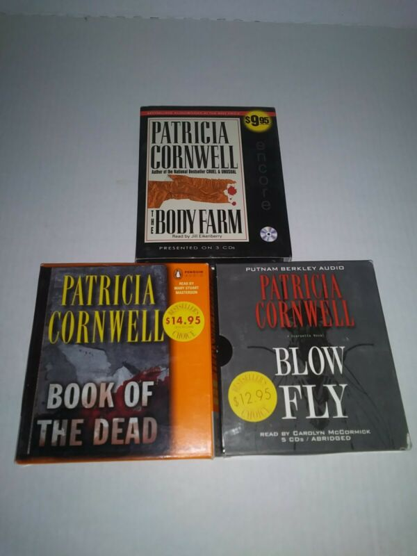 Lot Of 3 CD Audio Books Patricia Cornwell