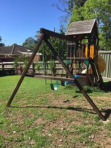 Kids Cubby House and Playground Set North Ryde Ryde Area Preview