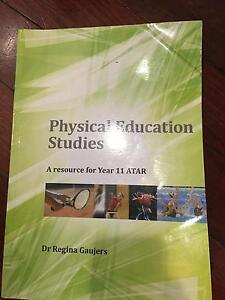 Physical Education Studies year 11 ATAR text book Midland Swan Area Preview