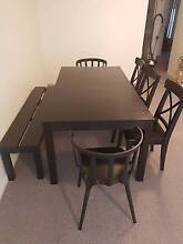 Expanding 8-12 seat Dining Table and Chairs Brisbane City Brisbane North West Preview