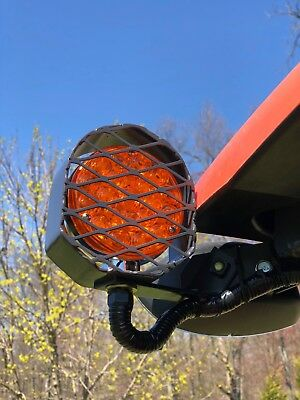 Kubota B Series Led Light Protectors With Wire Guard