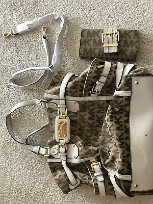 Michael Kors Handbag with Matching Wallet