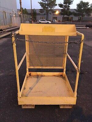 Man Cage Forklift Work Platform