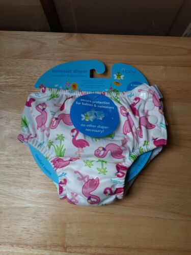 Girls Swimsuit Diaper by I Play Size 6 Months  NEW WITH TAGS