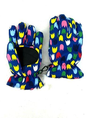 Hanna Andersson Kids Snow Mittens Girls Gloves Fur Size Medium M