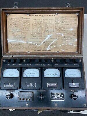 Weston Industrial Analyzer 639