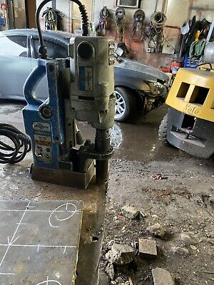 Hougen Hmd904 Magnetic Mag Drill Press 115v Never