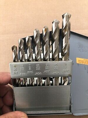 Huot Drill Index Case With Drill Bits 116 To 12 By 132 Hhs Jobber 15 Pcs