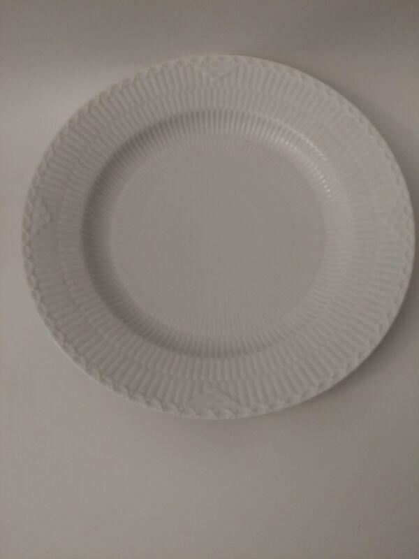 """6 Royal Copenhagen WHITE LACE Dinner Plate, 10"""" set of plate"""