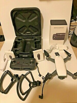 DJI Spark Fly More Combo 1080p Drone - White