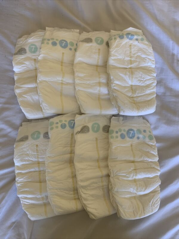 Up And Up (Target) diapers size 7 Sample Of 8