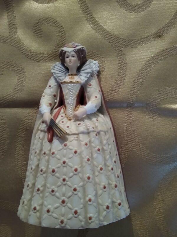 Lenox The Great Fashions of History JANE Elizabethan Period Fine Porcelain Fig