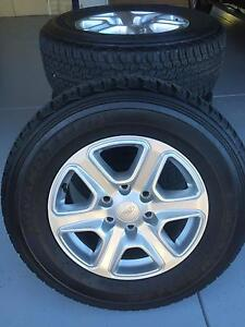 Ford Ranger PX XLT rims and tyres Canning Vale Canning Area Preview