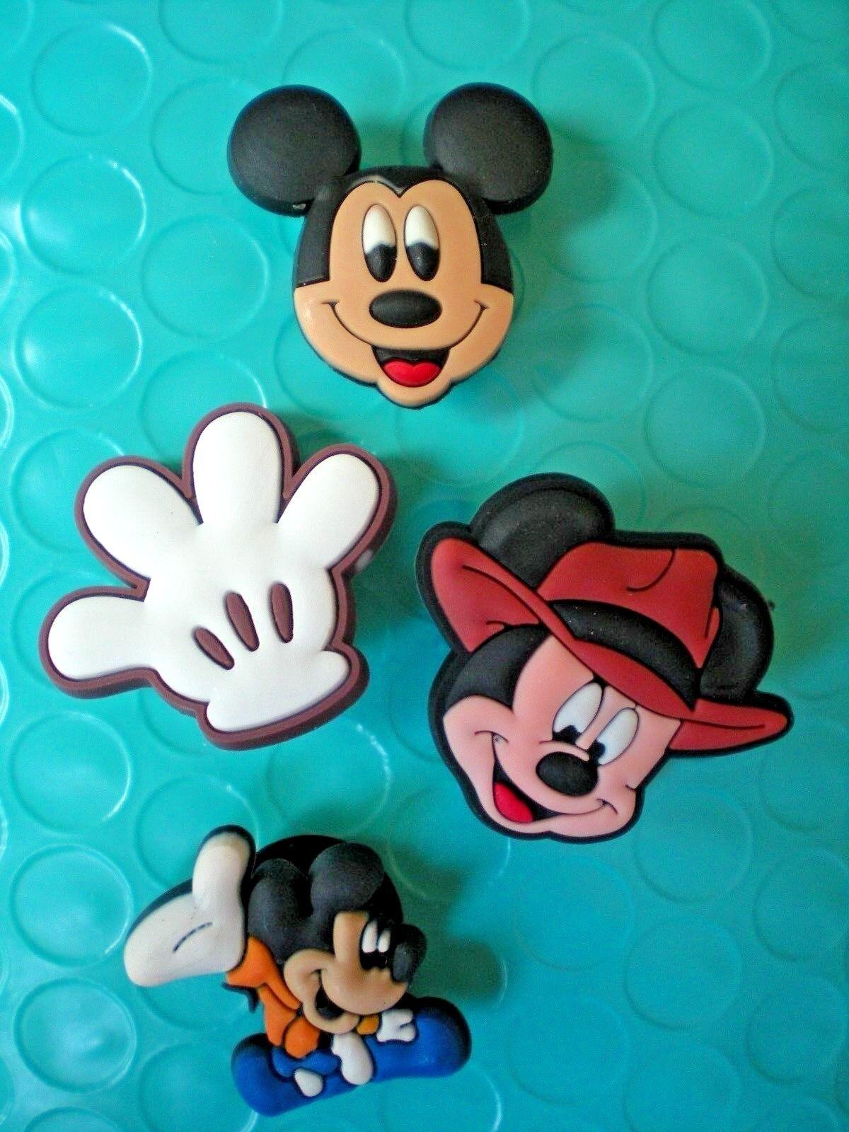 Clog Shoe Plug Charms 4 Mickey Mouse Fit Bracelet Belt Accessories