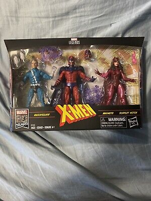 Hasbro Marvel Legends Series X-Men - Magneto, Quicksilver, & Scarlet Witch...