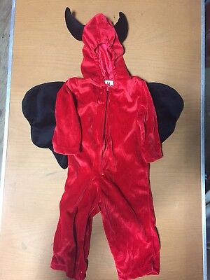 Boys Devil Halloween Costume 12-18mo (Devil Costume For Boys)