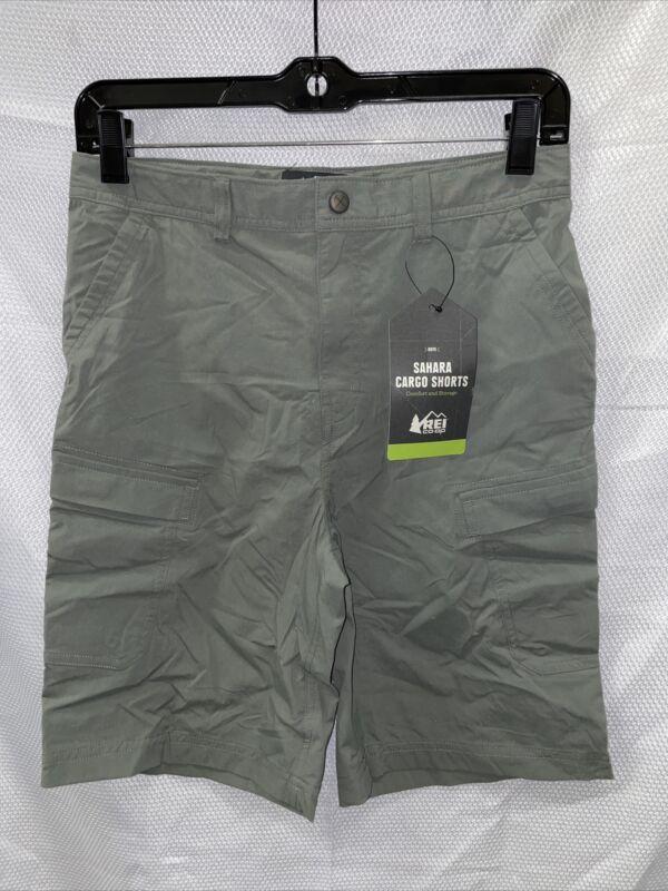REI Sahara Shorts - Sage Grey - Boys Large (14-16)