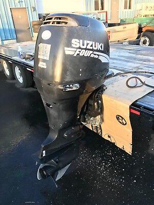 """2003 Suzuki DF115 115 hp 4-Stroke 20"""" Outboard Boat Motor Engine Four Stroke 90"""