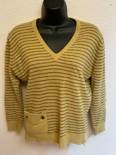 Vintage Dalton Cashmere Mod Sweater S Mod Pinup 1950