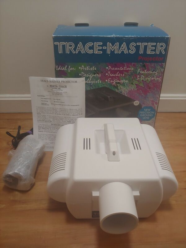 Gagne Porta-trace Trace-Master Deluxe Opaque Art Projector Artograph Drawing