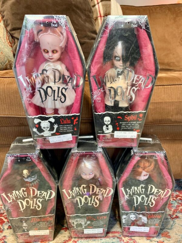Living Dead Dolls Series 4 Set Unopened