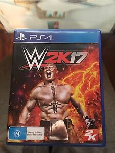 WWE 2K17 PS4 Frenchs Forest Warringah Area Preview
