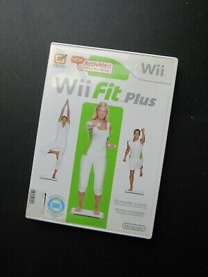 Nintendo Wii Fit Plus Video Game Fitness Exercise WiiFit Yoga