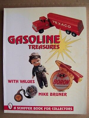 GAS STATION $$$ PRICE GUIDE COLLECTIBLE BOOK Include Pump Globe Sign Thermometer