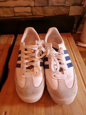 White Adidas Dragon Size 5