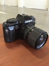 Minolta X-370n vintage camera with Samyang Auto Zoom lebse Darlinghurst Inner Sydney Preview