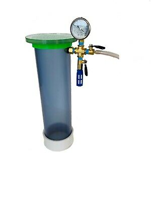 Clear Pvc Wood Stabilizing Vacuum Chamber 16 Length X 4 Diameter