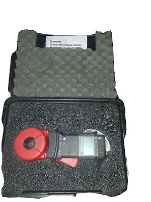 Aemc 3711 Clamp-on Ground Resistance Tester With Hard Case