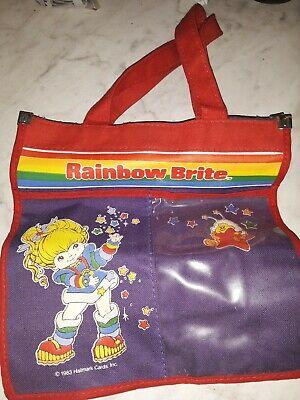 Rare Vtg 1983 Hallmark Rainbow Brite Small Purse/Case Bag
