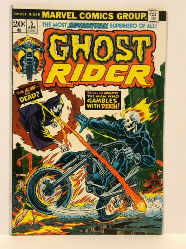 Ghost Rider #5 (1974)