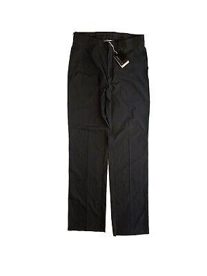 Men's 34x36 - Nike Tiger Woods Platinum Black Fit Dry Golf Pants Slacks