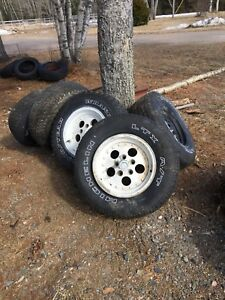 5 rims off tj 5x114.3