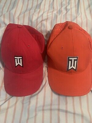 Lot Of 2 Nike Tiger Woods Hats
