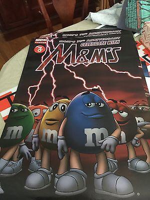 M & M's Marvel Custom 75th Anniversary Poster 24x 36 SDCC 2016