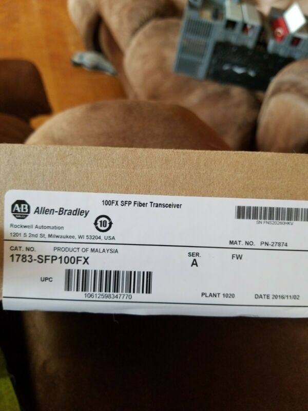 Allen Bradley 1783-SFP100FX Fiber Transceiver LOOK!!  2 for 1!!