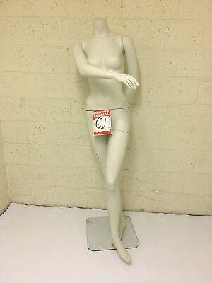 White Female Headless Mannequin - Used Showroom Model - 61 L