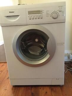 Almost as new Haier washing machine - 7kg Mosman Mosman Area Preview
